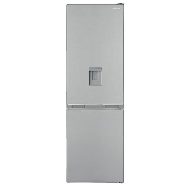 Хладилник с фризер Sharp SJ-BA10DMDIE , 331 l, E , No Frost , Инокс