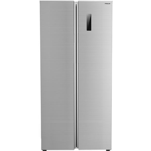 Хладилник с фризер Finlux SBS-500INX , 429 l, F , No Frost , Инокс