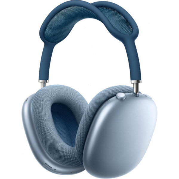 Слушалки с микрофон Apple Airpods Max - Sky Blue mgyl3