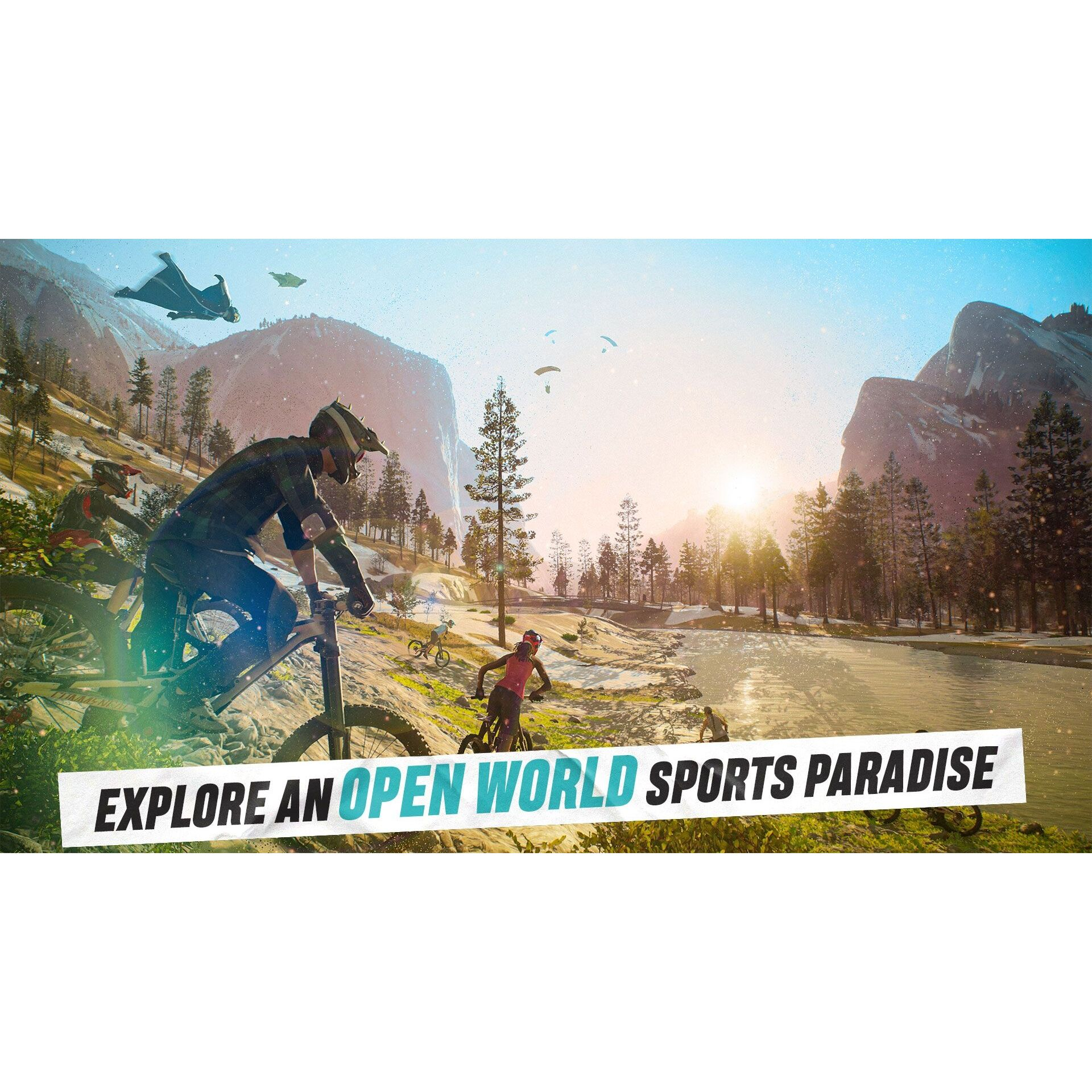 Игра Ubisoft RIDERS REPUBLIC FREERIDE DAY1 EDITION (PS4)