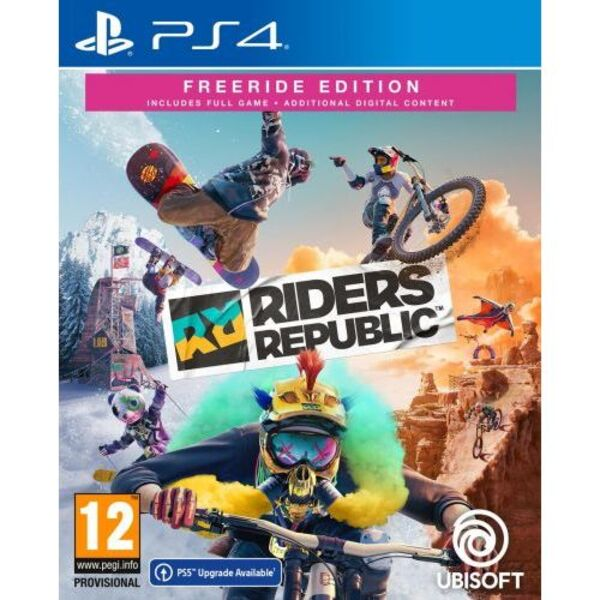 Игри Ubisoft RIDERS REPUBLIC FREERIDE DAY1 EDITION (PS4)