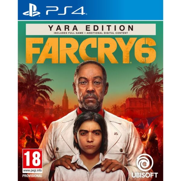 Игра Ubisoft FAR CRY 6 YARA SPECIAL DAY1 EDITION (PS4)