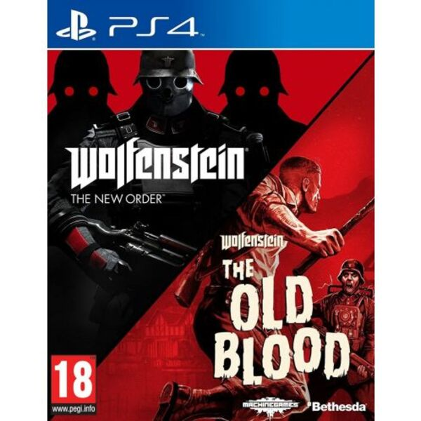 Игра Bethesda Wolfenstein The New Order & The Old Blood (PS4)