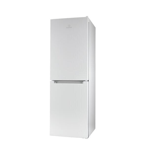Хладилник с фризер Indesit LR7 S1 W , 307 l, A+ , Бял , Статична