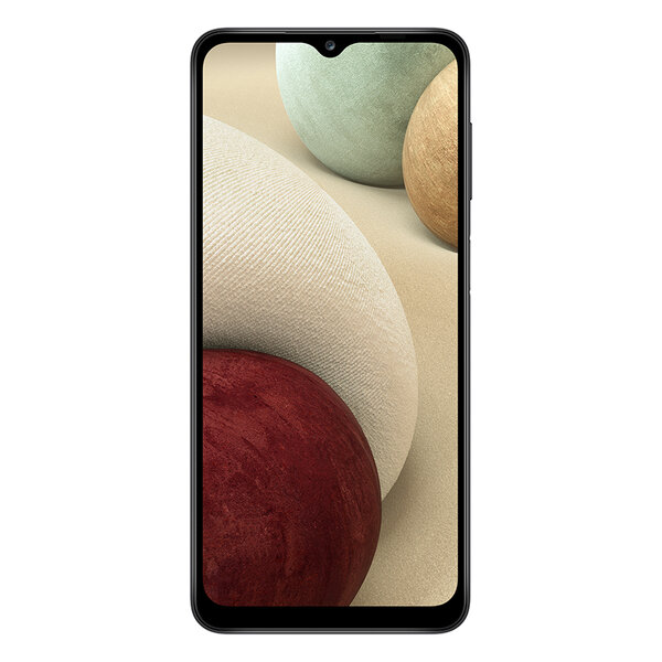 Мобилен телефон Samsung SM-A125FZKK GALAXY A12 DS BLACK , 128 GB, 4 GB