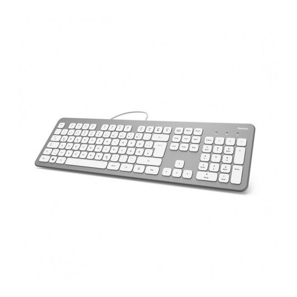 Клавиатура Hama 182651 KC700 WHITE