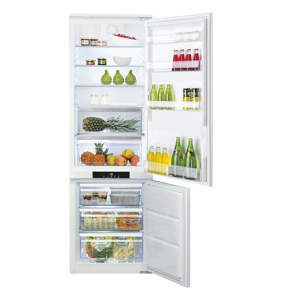 Вграден хладилник с фризер Hotpoint-Ariston BCB 80201 AA F C 03 , 294 l, A+ , No Frost , Бял