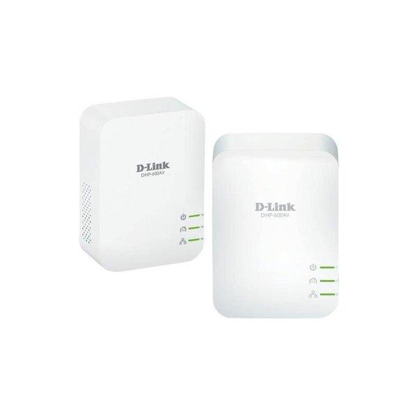 Адаптер Wi-Fi D-Link DHP-601AV 1000HD PowerLine