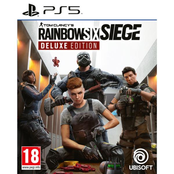 Игра Ubisoft TOM CLANCY'S RAINBOW SIX SIEGE DELUXE YEAR 6 (PS5)