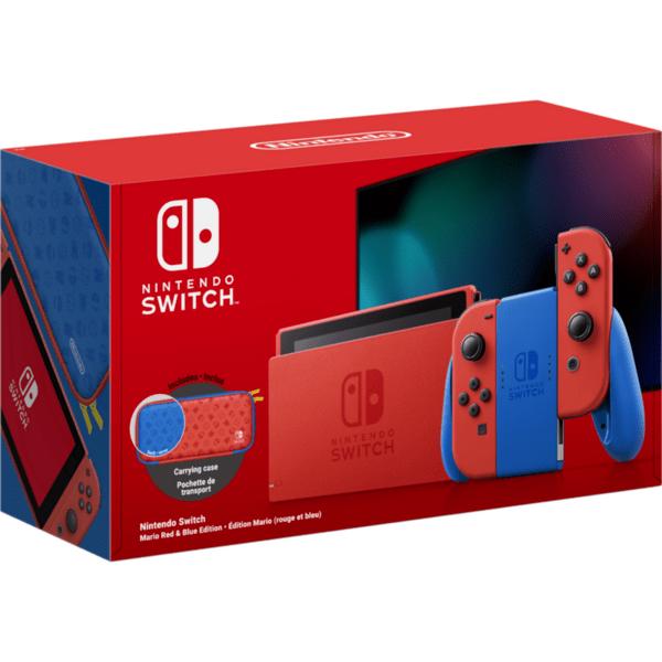 Конзола Nintendo Switch (Mario Red/Blue Edition)