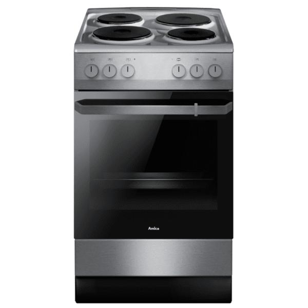 Готварска печка (ток) AMICA 508EE2.30EEPF(C) , 4 ток , INOX