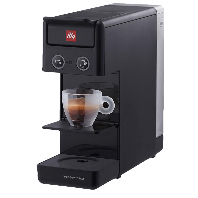Кафемашина illy Francis Y3.3 BK , 19 Bar, 850 W, Капсули