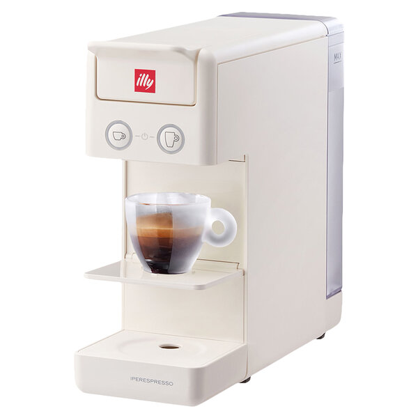 Кафемашина illy Francis Y3.3 WH , 19 Bar, 850 W, Капсули
