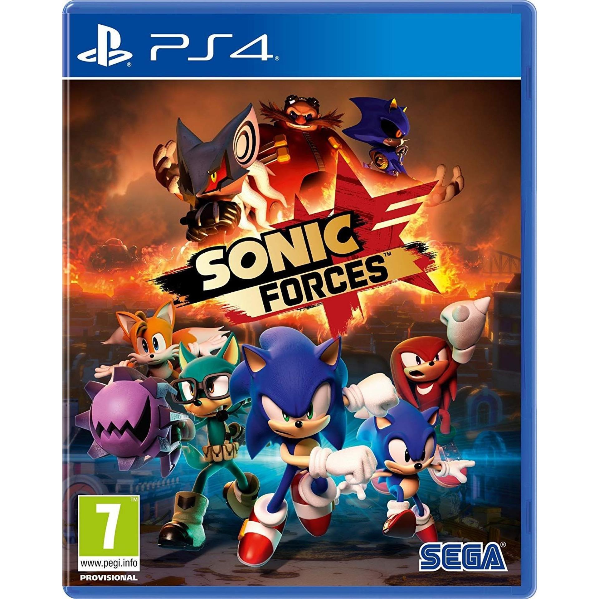 Игра SEGA SONIC FORCES (PS4)