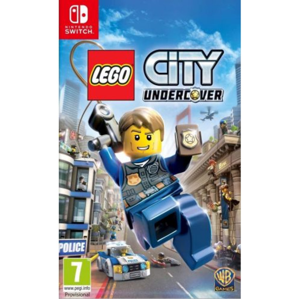 Игра WB LEGO CITY UNDERCOVER (NSW)