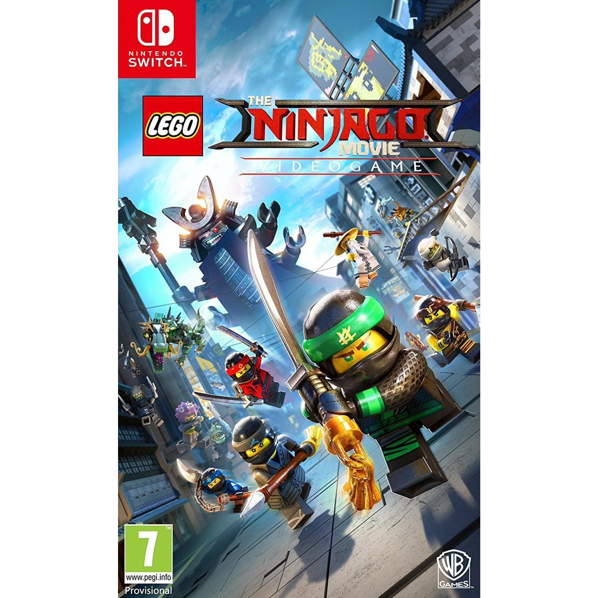 Игра WB LEGO Ninjago (NSW)