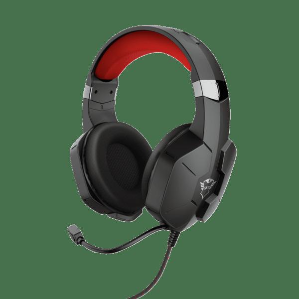 Слушалки с микрофон Trust GXT323 CARUS BLACK