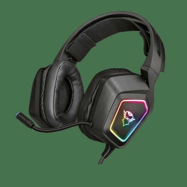 Слушалки с микрофон Trust GXT450 BLIZZ 7.1 RGB