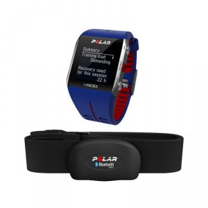 Смарт часовник Polar V800 HR GPS BLUE/RED