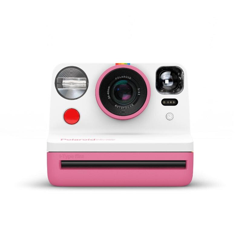 Фотоапарат за моментни снимки Polaroid NOW Pink 009056