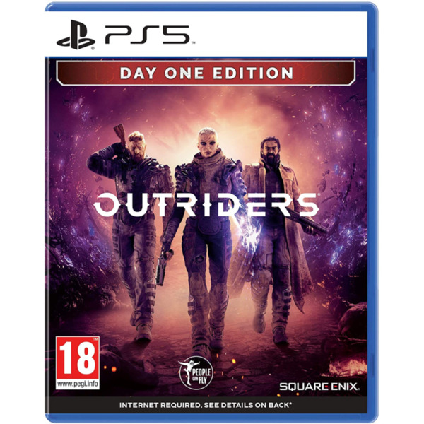 Игра Square Enix OUTRIDERS Deluxe Day 1 Edition (PS5)