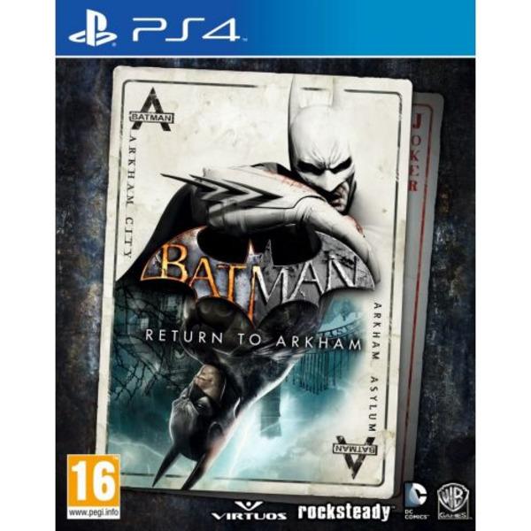 Игра WB Batman Return to Arkham (PS4)
