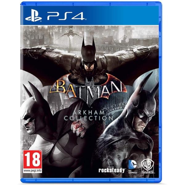 Игра WB Batman Arkham Collection (PS4)