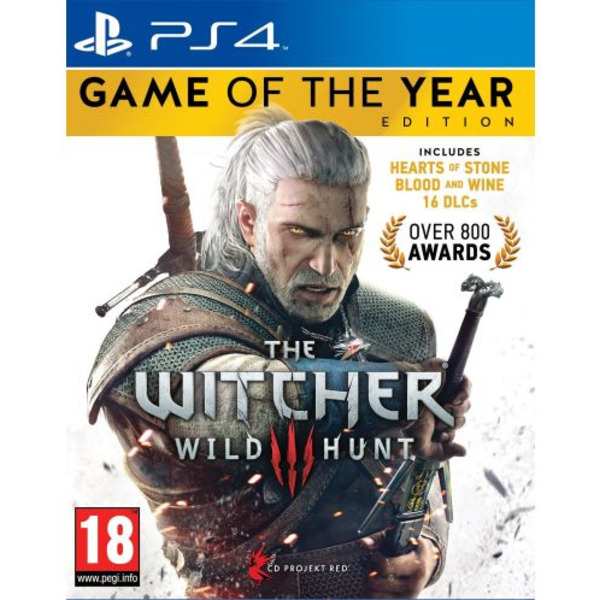 Игра CD Projekt RED The Witcher 3 Wild Hunt GOTY (PS4)