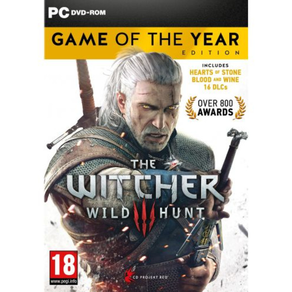 Игра CD Projekt RED The Witcher 3 Wild Hunt GOTY (PC)