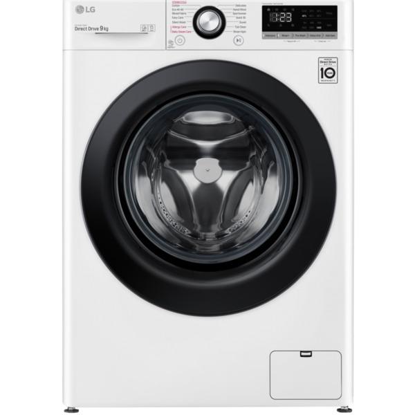 Пералня LG F4WN209S6E , 1400 об./мин., 9.00 kg, D , Бял