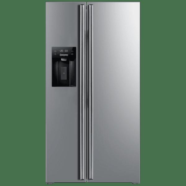 Хладилник с фризер Finlux SBS-540IGIX , 556 l, F , No Frost , Инокс