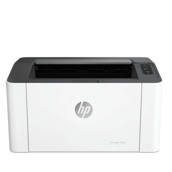 Лазерен принтер HP LASERJET 107W PRINTER 4ZB78A , Лазерен