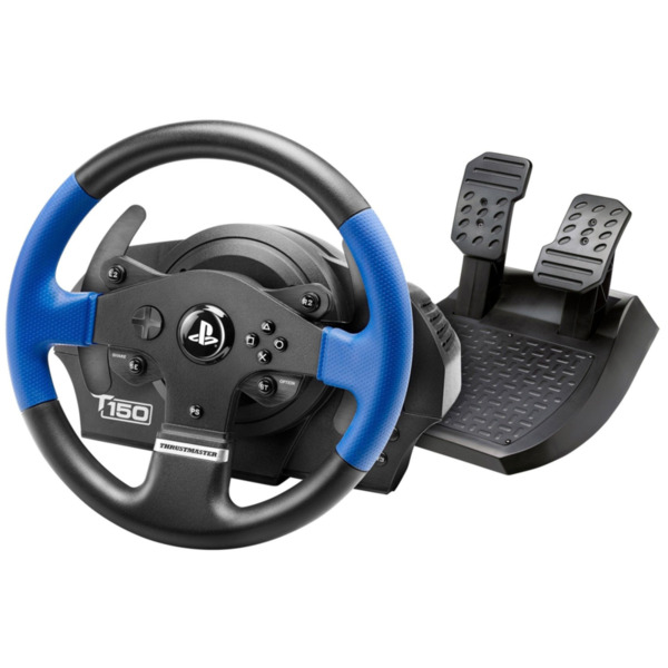 Компютърен аксесоар Thrustmaster Волан и педали T150 Force Feedback за PS5, PS4, PC