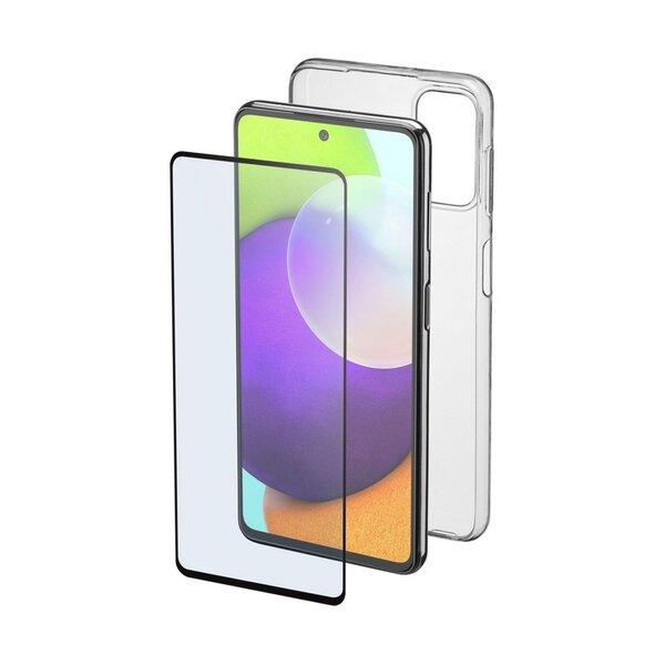 Калъф Cellularline FINE Samsung Galaxy A52 + протектор за дисплей