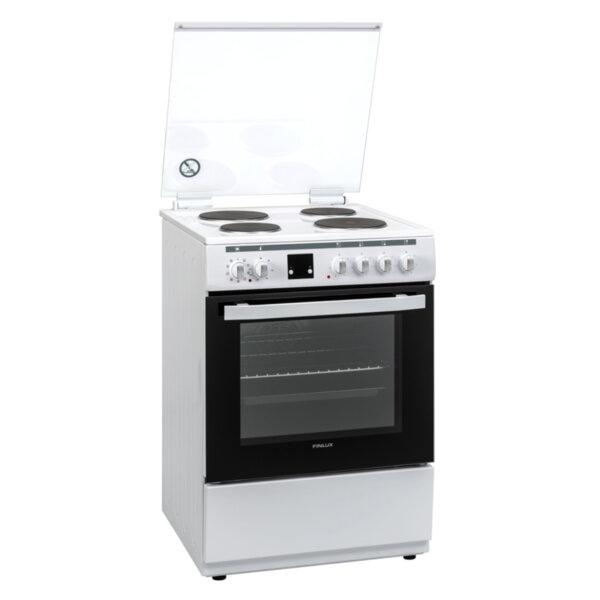 Готварска печка (ток) Finlux FLEM 60A , 4 ток , Бял