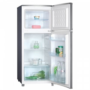 Хладилник с горна камера Crown DF 276S - СИВ