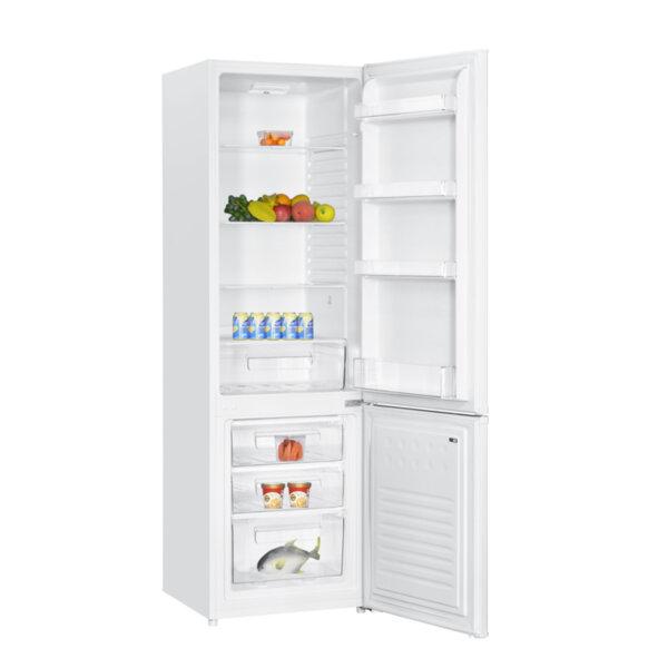 Хладилник с фризер Crown CBR-250 A+ , 273 l, A+ , Бял , Статична