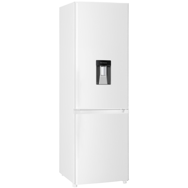 Хладилник с фризер Crown CBR-310D - ДИСПЕНСЕР , 313 l, F , Бял , Статична