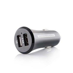 Зарядно устройство Modecom MC-C5VU2-34 DUAL USB 12V/5V 3.4A