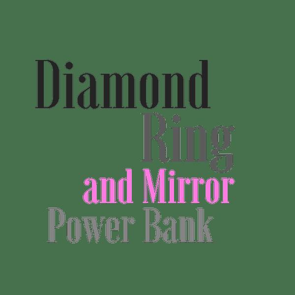 Селфи ринф с Огледало и Външна батерия