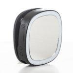 Черен Селфи Ринг с Огледало и Външна Батерия