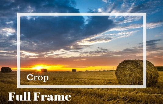 Какво е Crop Factor  и как го използваме във фотографията