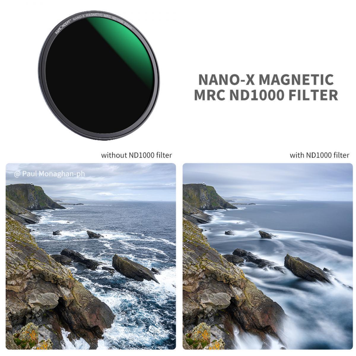 67мм 3 в 1 Magnetic филтри Nano-UV , CPL , ND1000 PRO