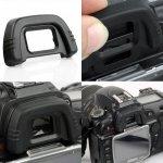 Гумено капаче за окуляр за Nikon DK-21 Nikon D40 D50 D70S D90 D200 D300 D600 D7000 D750 D610 D80 D70 F80 F65 F55 FM10
