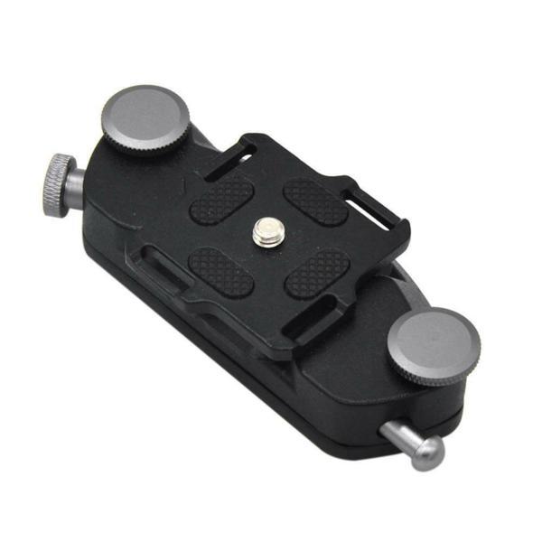 Държач за колан с плочка за DSLR апарати