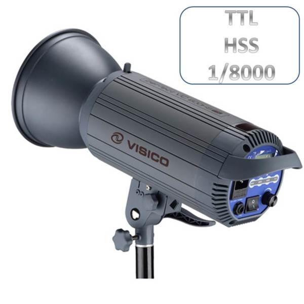 Студийна светкавица Visico VC-400 HS TTL - високо скоростна синхронизация