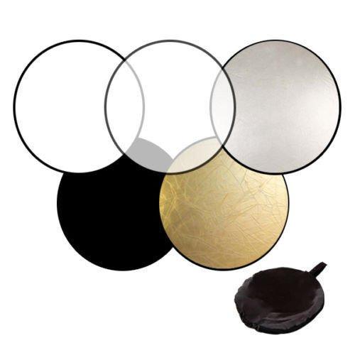 Светлинен рефлектор /диск 5в1 - 56 см