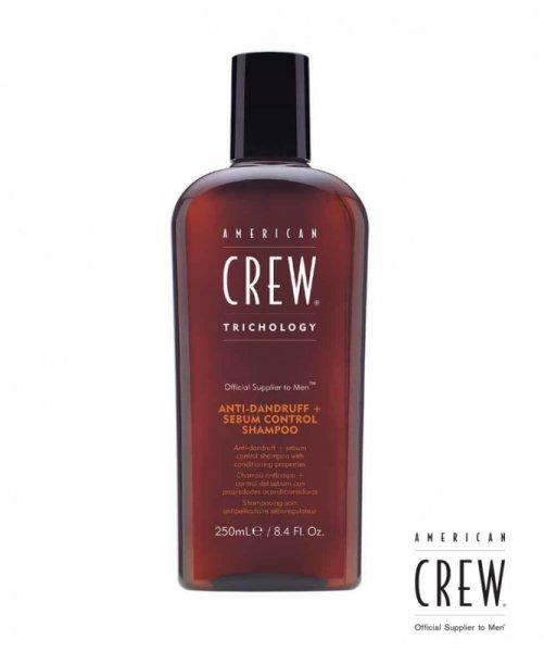 Шампоан и балсам против пърхот - American Crew Classic Anti-dandruff & Sebum Control shampoo