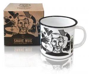 Емайлирано метално канче CLIP 'N' SNIP - Shaving Mug Barber Pro
