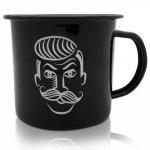 Емайлирано метално канче WINK - Shaving Mug Barber Pro
